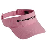C7 Corvette Stingray 2014+ Ladies Visor - Embroiderd Logo