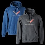 C7 STINGRAY HOODED SWEATSHIRT