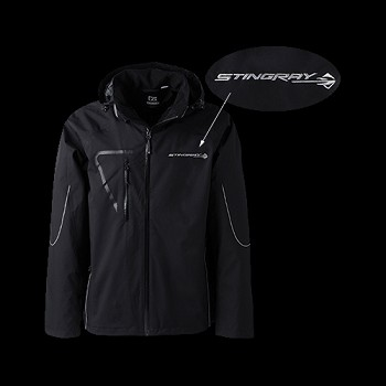 C7 Corvette Stingray 2014+ Mens WeatherTec Glacier Jacket