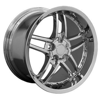 Corvette C5/C4 97-04 84-96 Fitments Deep Dish Z06 Style Wheels w/ Rivets COMPLETE SET - 3 Finishes To Select From