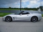 Corvette C5 97-04 GT2 Side Skirts