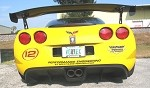 Corvette C6 05-13 GT2 Rear Diffuser w/ Exhaust System Included