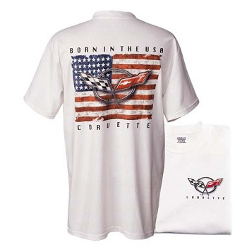 BORN IN THE USA C5 CORVETTE T-SHIRT