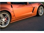 Corvette C6 ACI Z06/Grand Sport Rocker Panels/Side Skirts