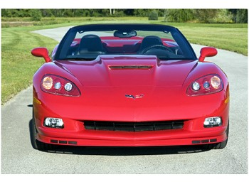 Corvette C6 ACI Z06 Style Front Splitter/Spoiler For Base C6