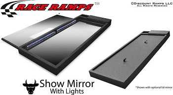 Race Ramp Lighted Show Mirror