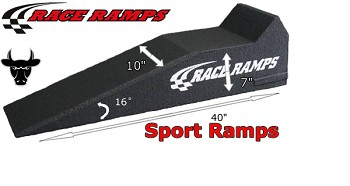 40 Inch Race Ramp Sport Ramps - Set Of 2