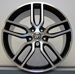 C7 Corvette Stingray Machined OEM Style Z51 Wheels - Fitment For C5 1997-2004 17x8.5 / 18x9.5