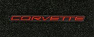 "C6 Corvette Lloyds Velourtex Cargo Mat with ""Corvette"" script"