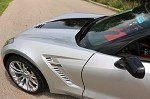 C7 Corvette Z06 2015+ Custom Painted Side Fender Duct Vents - Pair