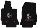 C7 Corvette Stingray/Z06 2014+ Lloyd Ultimat Jake Skull / Corvette Racing Floor Mats