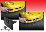 C7 Corvette Stingray/Z06 2014+ Retractable Front License Plate Bracket - Powered! SHOW N GO