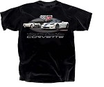 C6 Corvette 2005-2013 60th Anniversary Celebration T Shirt-  Black