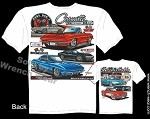 C3 Corvette 1953-1982 Unforgettable C1-C3 Collage T-Shirt