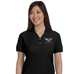 Ladies 1997-2004 C5 Corvette Polo - 5 Color Selections
