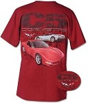 1997-2004 C5 Corvette Splatter T-Shirt