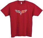 2005-2013 C6 Corvette Distressed Logo T-Shirt