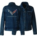 2014+ C7 Corvette Stingray Rhinestone Denim Jacket