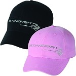 2014+ C7 Corvette Stingray Rhinestone Cap - Pink or Black