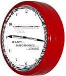 2005-2013 C6 Corvette Grand Sport Neon Clock - 20in