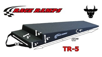 "Race Ramp 5"" Trailer Ramps - Set Of 2"
