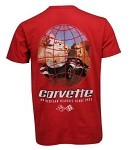 C3-C6 Around The World Corvette Series T Shirt