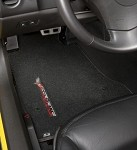 "C6 Lloyds Corvette Ultimat Floor Mats - sideways ""Corvette Racing"" script"