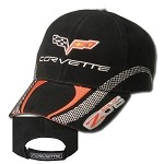 C6 Corvette 2006-2013 Z06 Checkerboard Stripe Cap