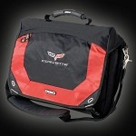 C6 CORVETTE COMPUTER MESSENGER BAG