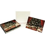 Corvette Presents Holiday Christmas Cards Box of 20 with Env