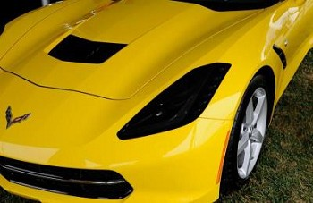 C7 Corvette Stingray 2014+ Headlight Protection Overlays XPEL