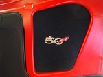 1997-2004 C5 CORVETTE ENGINE HOOD INSERT MONOGRAMMED 3 Logo Options