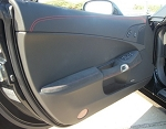 C6 Corvette 2005-2013 GM 2012-Style Suede-Wrapped Door Panels w/ Armrests
