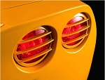 C6 Corvette 2005-2013 Tail Light Louvers - Color-Match Paint Options