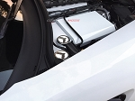 C7 Corvette Stingray/Z06/Grand Sport 2014+ Custom Painted Fuse Box Cover - Stainless Steel