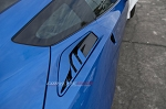 C7 Corvette Stingray 2014+ Custom Painted Rear Quarter Vent / Fins Set - 10 pc