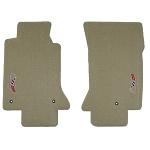 C5 Corvette 1997-2004 Lloyds Classic Loop Floor Mats - Sideways 50th Anniversary Logo
