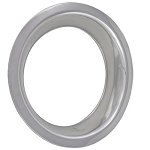 C3 Corvette 1968-1982 15x8 Stainless Steel Wheel Trim Rings - Deep Dish