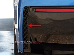 C7 Corvette Stingray 2014+ Hydro Carbon Fiber Rear Valance Vent Grilles - Pair