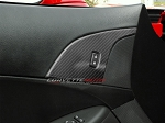 C6 Corvette 2005-2013 Hydro Carbon Fiber Door Lock Trim