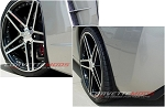C6 Corvette 2005-2013 Hydro Carbon Fiber GM Splash Guard Set
