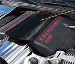 C6 Corvette 2005-2013 Hydro Carbon Fiber Plenum Cover - Non Perforated