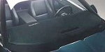C4 Corvette 1984-1996 Black Carpeted Dash Mats