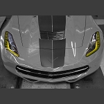 C7 Corvette Stingray/Z06/Grand Sport 2014+ Amber Headlight Kit - 2Pc