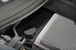 C7 Corvette Stingray/Z06/Grand Sport 2014-2019 Hydro Carbon Fiber Water Tank Cover - Perforated