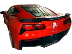 C7 Corvette Stingray/Z06/Grand Sport 2014+ Carbon Fiber / Fiberglass GTX Rear Spoiler