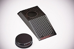 C6 Corvette 2008-2013 Z06 GS Hydro Carbon Fiber Power Steering Reservoir Cover W/Cap - Perforated