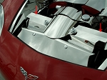 C6 Corvette Base / Z06 / Grand Sport 2005-2013 Polished Radiator Cover - 2Pc