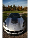 C7 Corvette Stingray 2014+ Concept7 Carbon Fiber Front Splitter