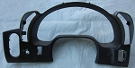 C6 Corvette 2005-2013 Replacement Matte Black Instrument Cluster Bezel
